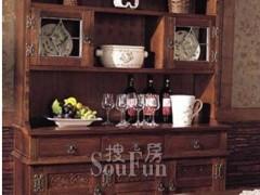 树之语餐厅家具贝拉系列6111餐边柜