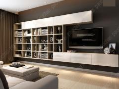 班尔奇洛厘定制简约电视组合柜 现代简约风格电视柜 定制电视柜