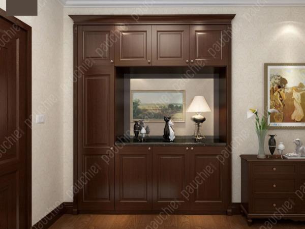 班尔奇坦迪美式风格玄关柜 定制玄关柜 玄关隔断柜 门厅柜