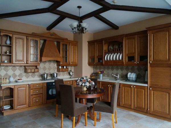 康洁整体家居-古典系列奥斯特厨柜