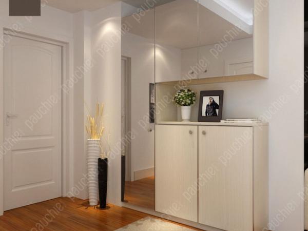 班尔奇黛纳定制玄关柜 定制门厅柜 隔断柜 玄关柜