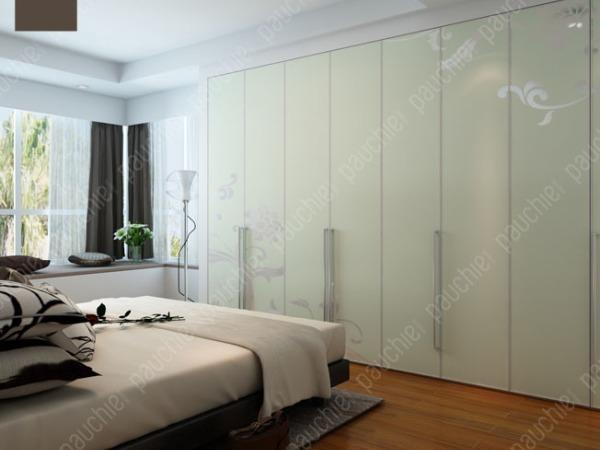 班尔奇扶影折叠门衣柜工艺玻璃平开门欧式风格时尚家居