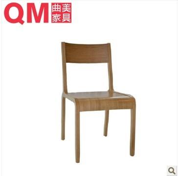 曲美家具4-2005D-8餐椅