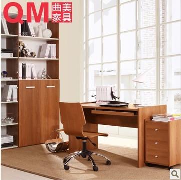 曲美家具2011C 书房套餐 字台 转椅