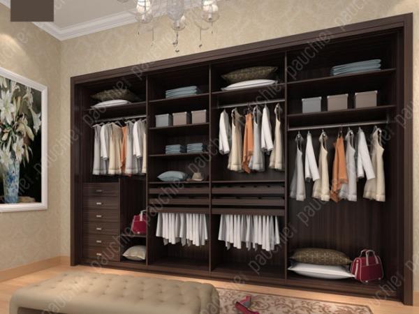 班尔奇桑兹整体衣帽间步入式现代简约风格E0级刨花板