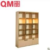 曲美家具4-QM052SG2-5书柜