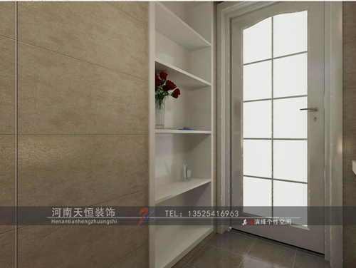 现代简约-130平米三居室-装修样板间