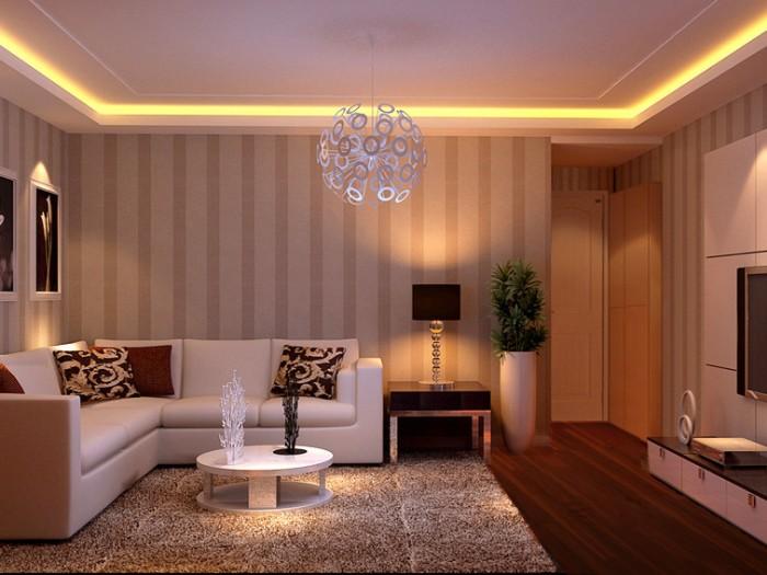 现代简约-68平米二居室-装修设计