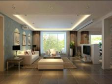 现代简约-169.7平米四居室装修图片