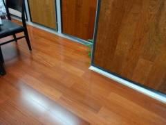 圣象AM9116金丝柚木王多层实木地板