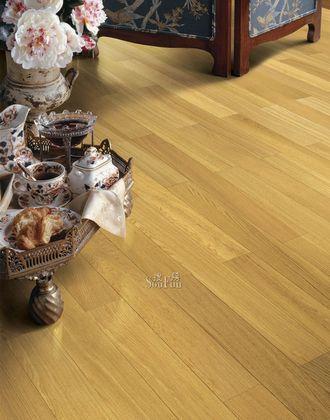 圣象CM9113镏金白橡复合强化地板