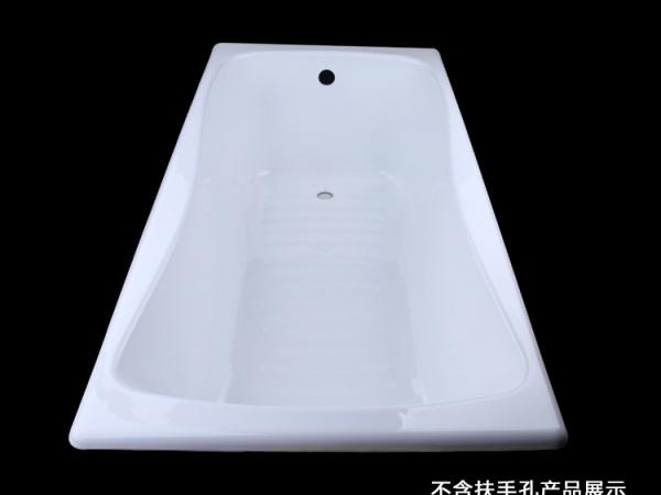 科勒浴缸百利事1.5米嵌入式铸铁浴缸 K-17270T