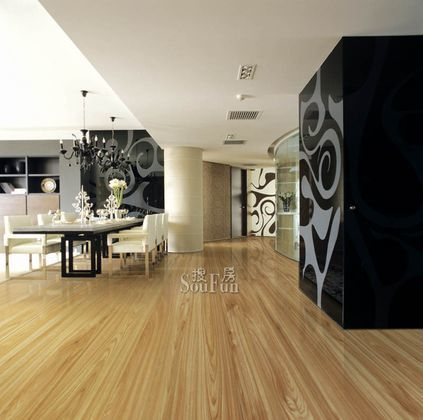 圣象F4星健康PD9116尚苑果木强化复合地板
