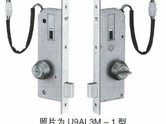 日本美和MIWA门锁U9AL3M-1型单闩电控锁