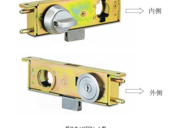 日本(MIWA)美和门锁U9AUTU-1型强化玻璃门用锁