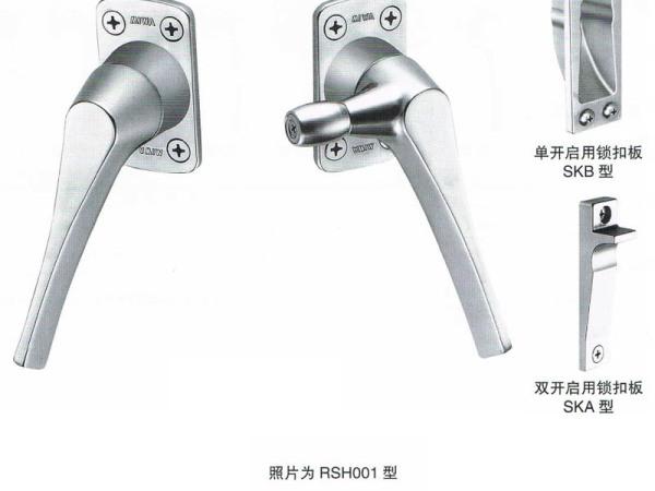 日本(MIWA)美和门锁RSH001滚轴固定执手
