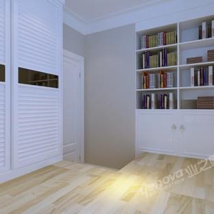 现代简约三居室书房装修效果图大全图片