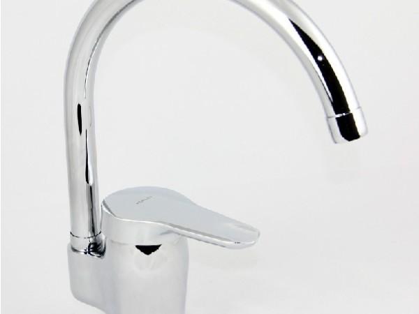 科勒K-668T-CP 凯迪 厨盆水槽镀铬冷热水龙头