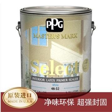 PPG大师漆精选内墙乳胶漆封固底漆 1GAL 净味/原装进口