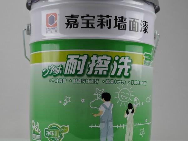 嘉宝莉 内墙乳胶漆白色净味耐擦洗全效墙面漆