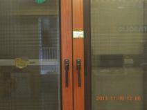中空钢化隔音玻璃 防盗趟纱门一体门图片