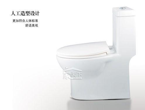 JOYOU 中宇卫浴 喷射虹吸式连体座便器 jy60086