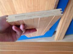 九木堂碳化侧压哑光竹地板