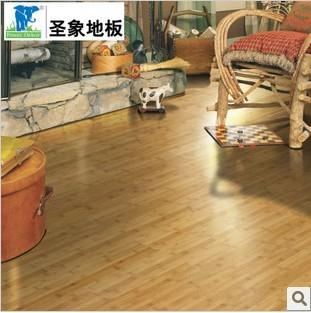 圣象康树三层实木复合竹地板 NK1003如意旺竹