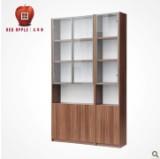 红苹果家具 简易书柜 书架玻璃门 R732-50图片