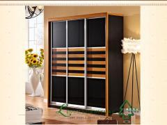 林氏木业 新中式整体衣柜KD801*