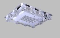雷士照明led水晶灯长方形吸顶带分控NVX1295/12图片