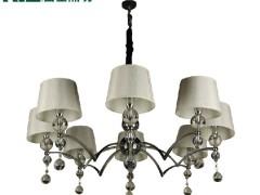雷士简约欧式 客厅卧室 餐厅 水晶吊灯EFD9002
