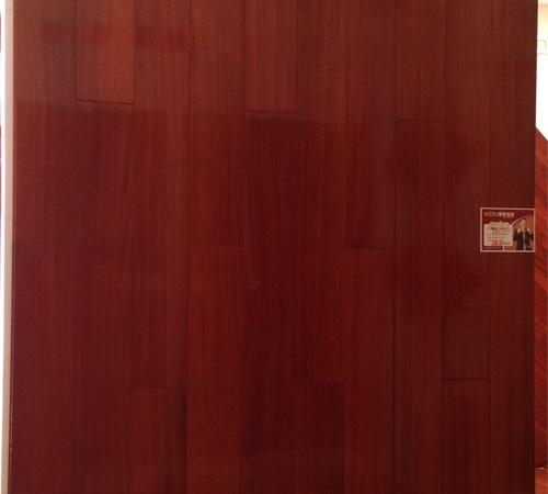 康辉地板/实木地板/木地板圆盘豆8804亮面