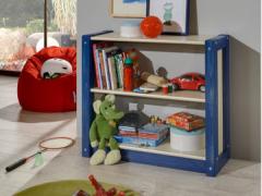 斯堪维亚suwem 儿童实木书柜储物柜书橱书架