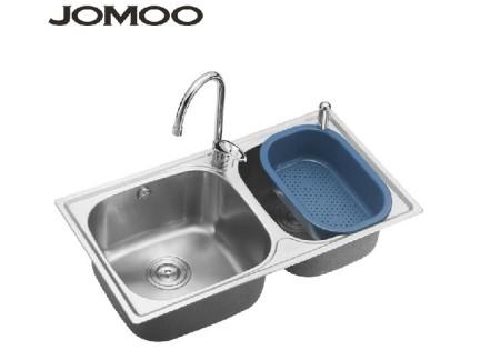 JOMOO九牧 厨房不锈钢水槽套餐SC02021-00-1