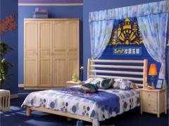 松堡王国实木儿童堡床单层床SP-C008X