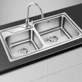 欧琳 厨房不锈钢洗菜盆OL2202