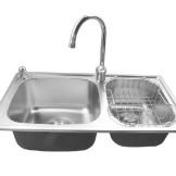 JOMOO九牧 厨房双槽水盆套装02018-00-2