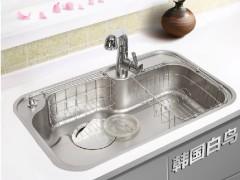 白鸟水槽 不锈钢大单槽洗碗池CDS840