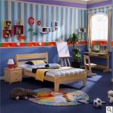 松堡王国实木儿童家具 芬兰松实木环保儿童床单层床 RC002