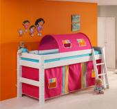 斯堪维亚旗suwem儿童床 实木上下床 松木单人床 多功能图片