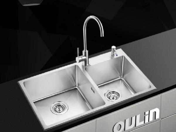 欧琳 厨房冷热全铜水龙头OL-8808