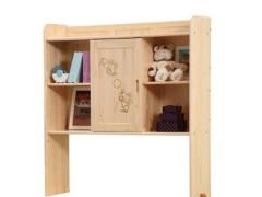 松堡王国儿童家具上书架装饰柜芬兰松水性漆SP-J002L