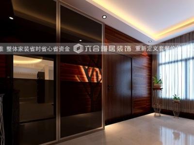 现代简约-140平米三居室装修样板间