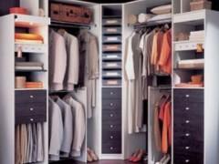 索菲亚格拉斯布纹衣帽间 入墙式整体定制衣柜 组合大衣柜收藏柜