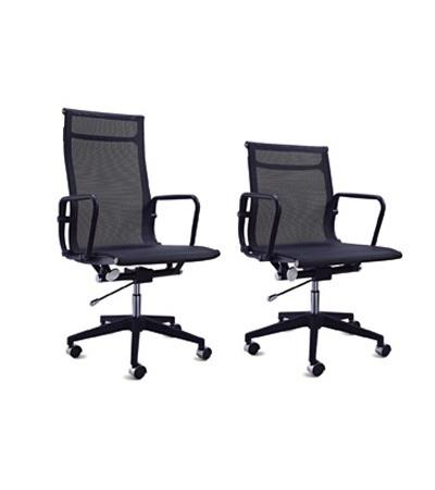 汇美B630网布职员椅