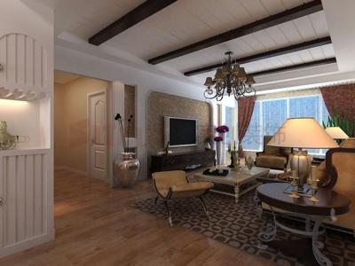 西式古典-144平米三居室装修样板间