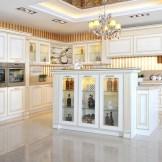 康洁整体家居-古典系列伊丽莎白厨柜
