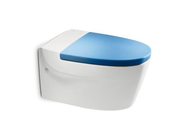 Roca乐家酷玛挂墙式座厕(湛蓝色)