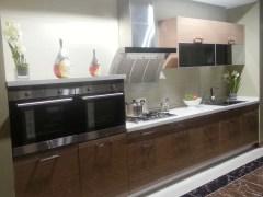 康洁整体家居-康派系列金丝柚木厨柜